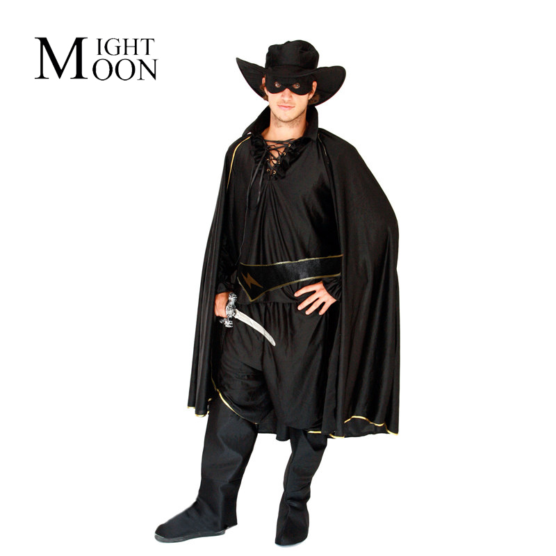 Clair de lune Cosplay film Zorro pourim Costume Cosplay Halloween Costume