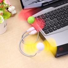 Flexible USB Mini Cooling Fan Cooler For Laptop Desktop PC Computer Hot Water Glass Radiating Tool(China (Mainland))