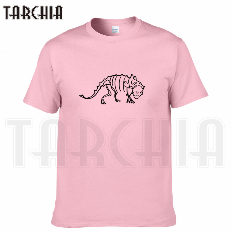 TARCHIA 2019 summer brand Portrait of dinosaurs t-shirt cotton tops tees men short sleeve boy casual homme tshirt t plus fashion