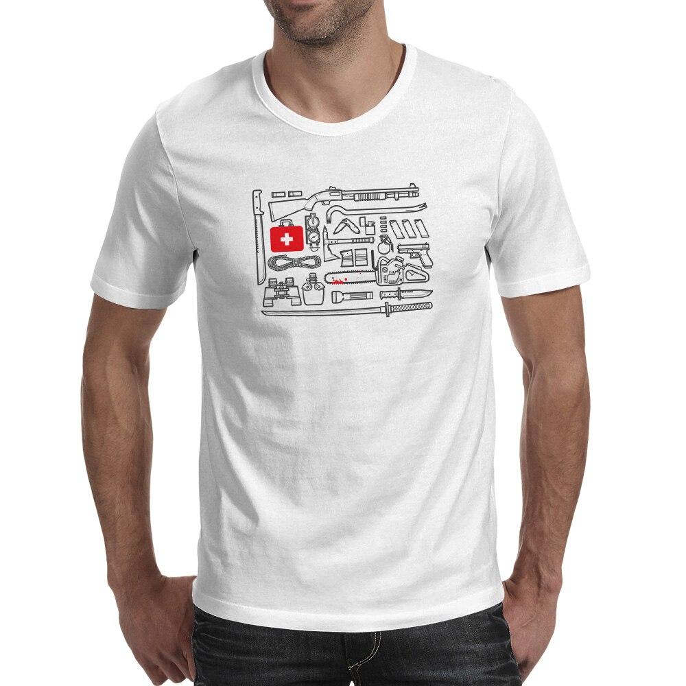 Hogyan lehet megölni Zombi pólót Creative Punk Brand pólót Cool - Férfi ruházat