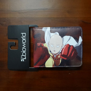 Anime Hero One Punch Man Purse Leather Man Women Wallets portefeuille femme Dollar Price Folded Short Wallet 1