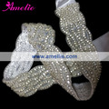 Free shipping Rhinestone Stone Bridal Sash Crystal Wedding Belt