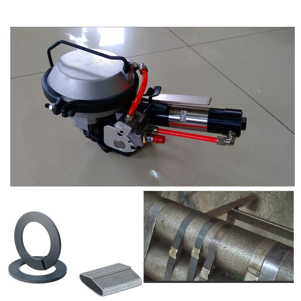 KZ-19/16 kombinált pneumatikus acél hevederes gép, fém csomagoló - Elektromos kéziszerszámok - Fénykép 1
