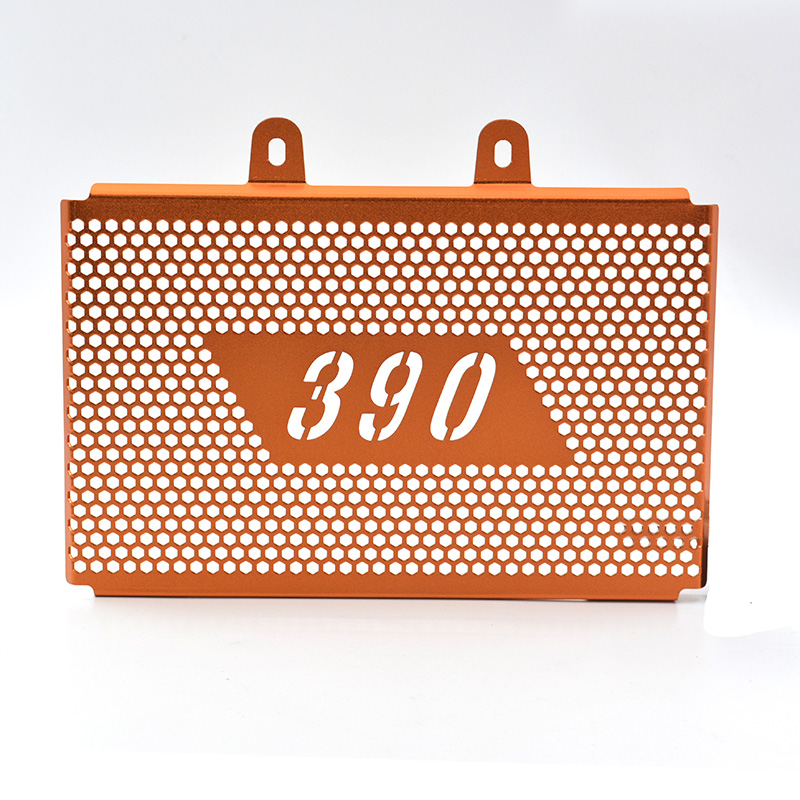 Motorcycle Radiator Grill Protector Cover Guard Orange For <font><b>KTM</b></font> <font><b>390</b></font> <font><b>Duke</b></font> <font><b>2017</b></font> - 2018 image