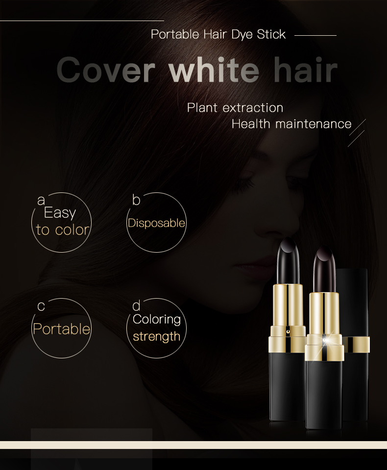 Easy Natural Instant Hair Dye Color Cream