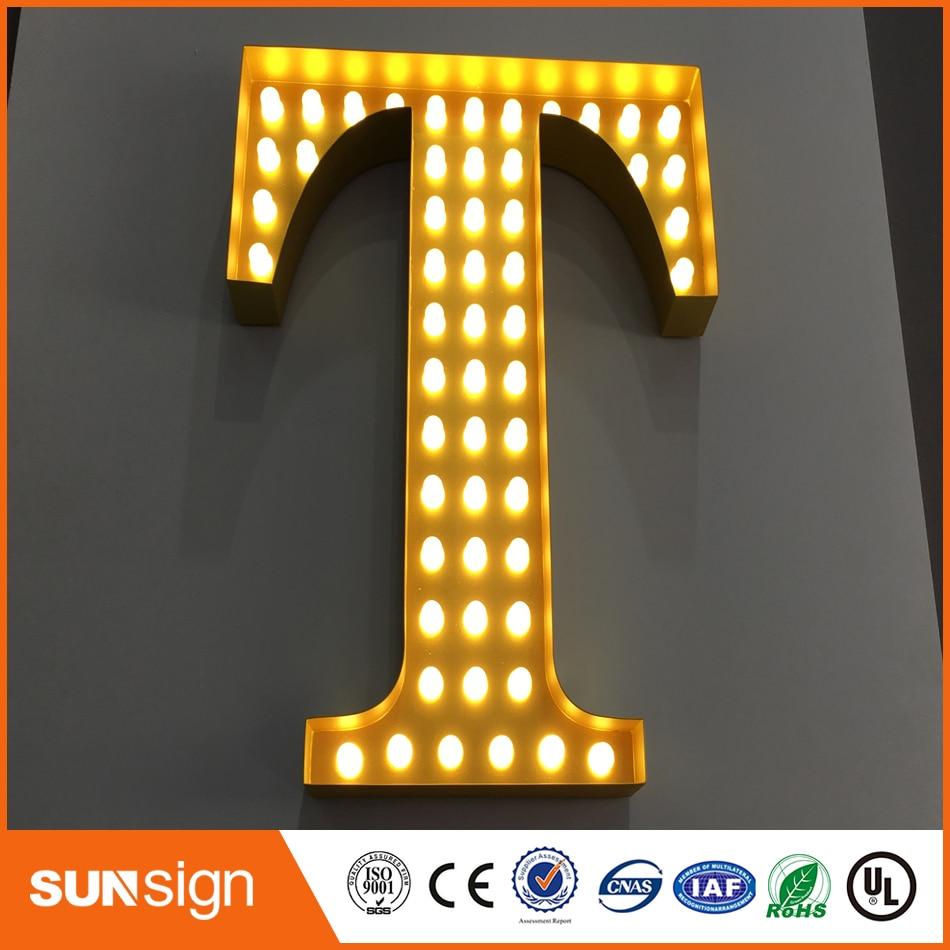 Acrylic Custom Fronlit Letters