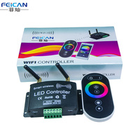 Free Shipping RF WiFi RGB LED Controller By Android And IOS System Intelligent Mobile Phone For