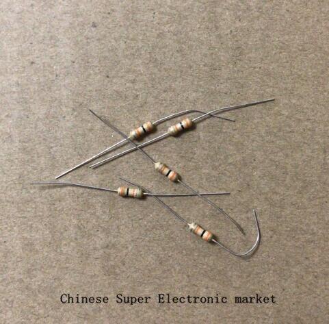 1000PCS 1/6W = 1/8W 470R , 470 Ohm Carbon Film Resistor 0.125W 5% ( 12R 22R 27R 30R 33R 39R 47R 51R 56R 100R 220R 330R 680R  )