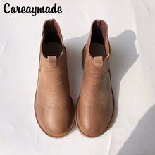 Осенне зимние женские ботинки careaymade лидер продаж ручной