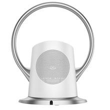 BINFU Electric Mute Fan with Remote Controlled Bladeless Powerful Soft Wind Wall Fan for Home Desktop Tower Fan 180 Deg Swinging