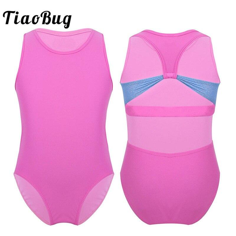 Shiny Toddler Girls Hallow-Out Ballet Leotard Ruffled Tutu Dress