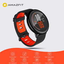 цена на Global Version AMAZFIT Watch Pace International Version Bluetooth 4.0 Sports Smart Strap Ceramic Smartwatch Heart Rate Monitor