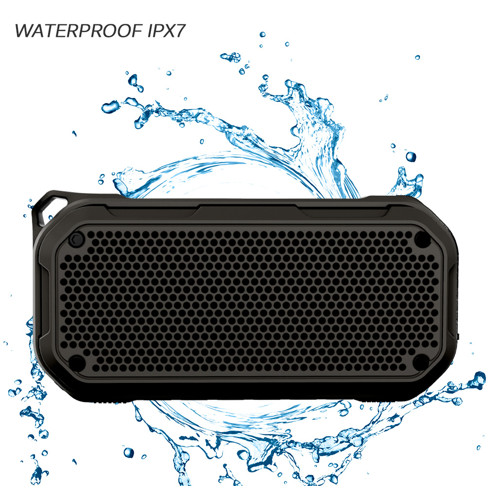 цена на 2000mAh Wireless Bluetooth Speaker Waterproof Portable Outdoor Mini Column Bluetooth bicycle Speaker Hifi Subwoofer Bass Speaker