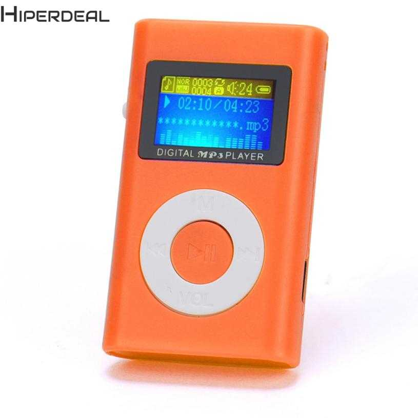 HIPERDEAL Music Player USB Mini MP3 Player LCD Screen Support 32GB Micro SD TF Card Red Players Hot 17Dec13 Drop Ship