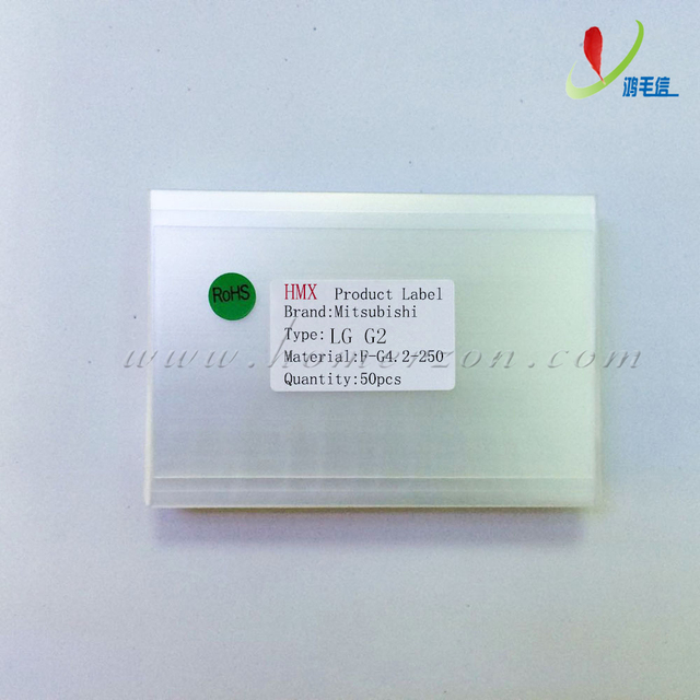 Mitsu 50x 250um OCA óptica clara pegamento adhesivo película pegatina de doble cara para el LG G2 VS980 D801 LCD reparación de la pantalla táctil laminador