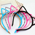 New Baby Girl Hair Accessories Cartoon Cat -Ear Headband Kids Fashion Cute Hair Band Hairs Accessories