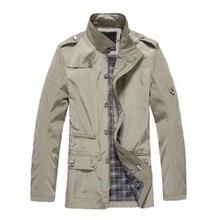 2017 neue ankunft frühling antumn winter herren mantel mantel mode kleidung kostenloser versand plain pure Jacke Herren asien größe M-3XL