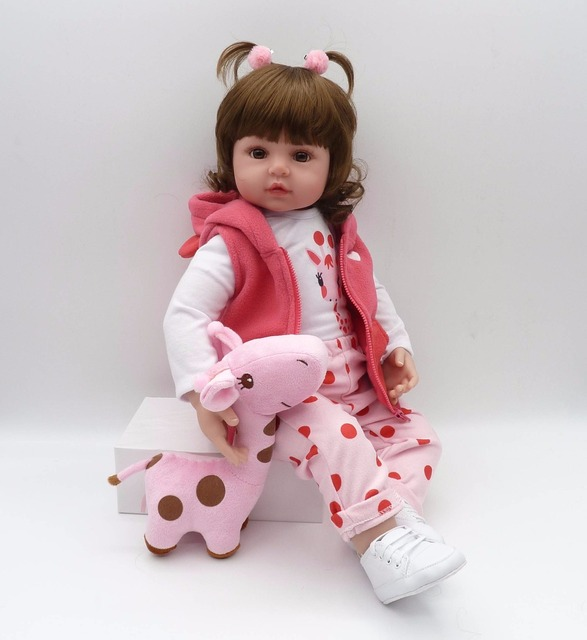 Silicone Reborn Baby Dolls Boneca Reborn Realist Doll 5