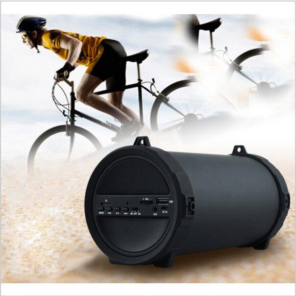 ФОТО Outdoor 89mm Big Bass  Bluetooth Speaker Wireless Sports Portable Subwoofer Bike Car music Speakers Radio FM Mp3 player