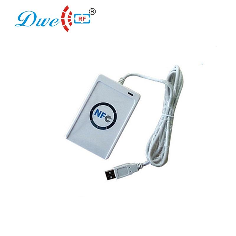 цена на DWE CC RF USB ntg 213 216 reader and writer 13.56mhz cloning devices rfid key duplicator
