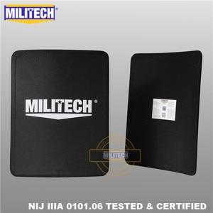 Image 3 - MILITECH 280mm * 350mm NIJ IIIA Ultra Light Weight UHMWPE Bulletproof Ballistic Backpack Panel 11 x 14 inches School Bag Insert