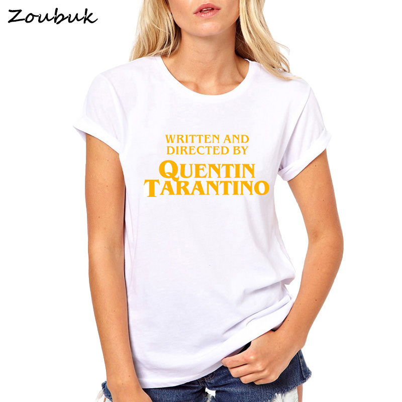 written-and-directed-by-quentin-font-b-tarantino-b-font-t-shirt-women-casual-femme-summer-tops-short-sleeve-tshirt