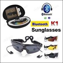 K1 Toque Inteligente Sem Fio do esporte óculos de Sol Do Bluetooth Fone De Ouvido Fone de Ouvido com Microfone Ouvir Música e Chamada de Telefone para Mobilephon