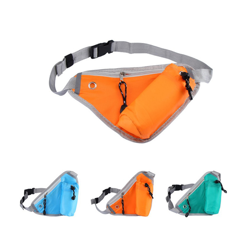 Portable 3 Colors Foldable Sports Bag Waterproof Gym Men/Women Running Waist Bag Packable Duffle Sports Bag Travel Backpack(China)