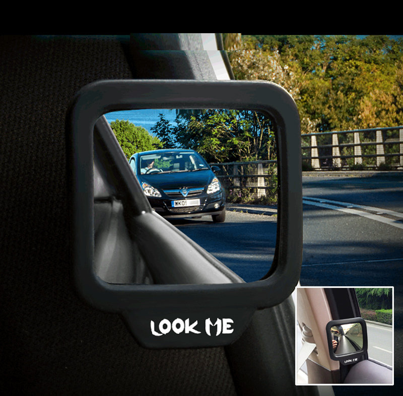 1 Piece Car Back Seat Rearview Mirror Alighting Reversing Assistance Blind Spot Mirror Car Baby Child Inside Observation