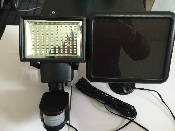 ultra brillante led motion sensor de luz de seguridad solar llev la lmpara de inundacin