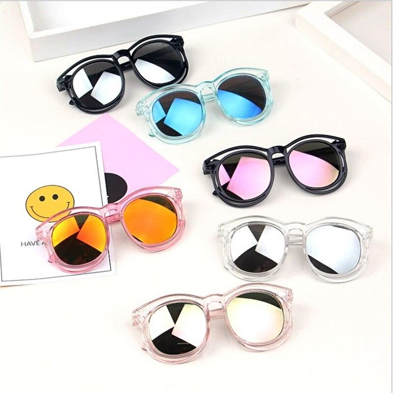 Children Sunglasses 2019 New Fashion Kids Square Sunglasses Boys Girls Travel Glasses UV400 Children Novelty Toys Accessories