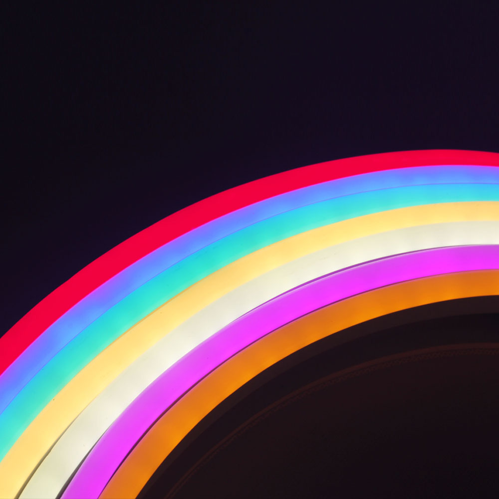 HA CONDOTTO LA Striscia Al Neon AC 220V 120LED/M 2835 Flessibile Luce Al Neon del LED Impermeabile Del Tubo Al Neon All'aperto Striscia Decorativa 15 M/20 M/25 M - 6