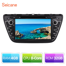 Seicane 8″ Car Android 8.0 Radio DVD GPS Navigation System For 2013 2014 2015 Suzuki S-Cross SX4 With HD 1024*600 Touch Screen