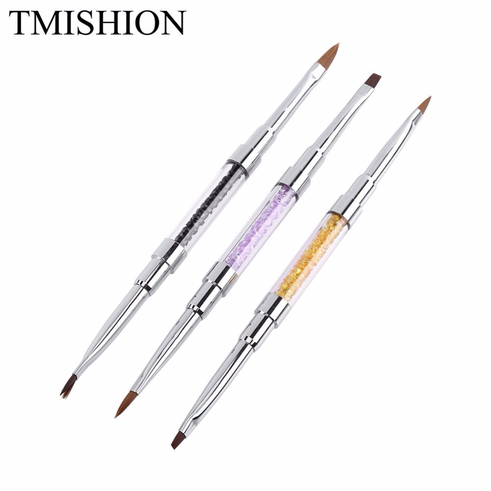 Double Head Nail Art Painting Pen Professional Two Ends 3D