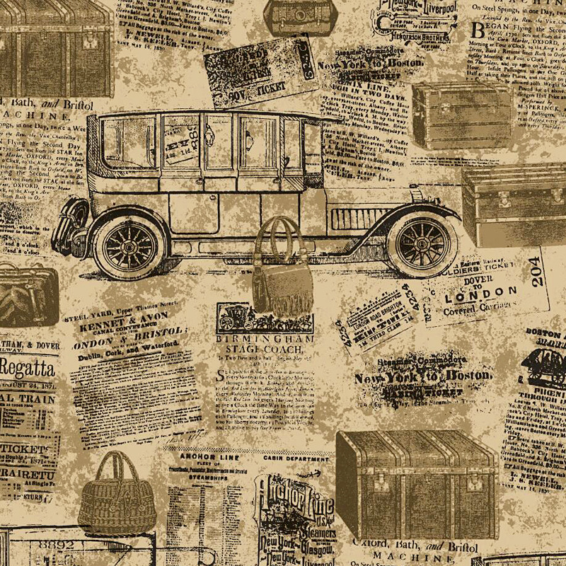 beibehang wallpaper Vintage retro alphabet wallpaper industrial wind bar cafe restaurant personality newspaper carriage wall kolner kbs 457x76v