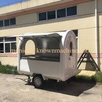 Передвижной пищевой фургон/мороженое, еда Трейлер с длиной 2,2 метра
