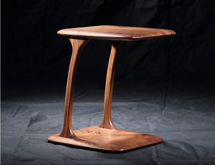 100% Орех твердой древесины столик
