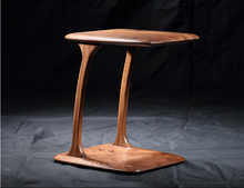 100% Walnut Solid Wood End Table