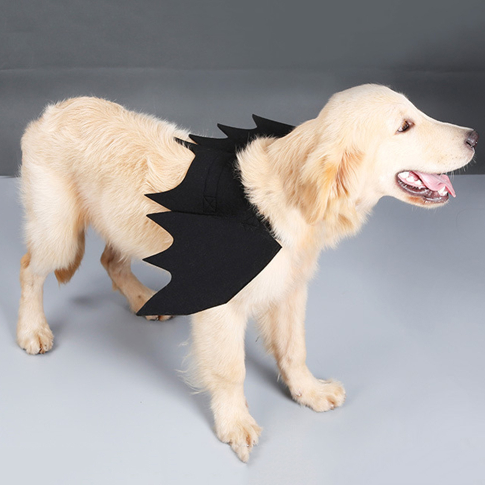 Halloween Cute Dog Cosplay Costume Pet Bat Wings Cat Dog Bat Costume Decorations Hot Sale Funny Clothes 2019 New Arrival
