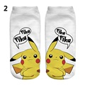 New Women Men Socks Pokemon Go Pikachu Cartoon Cute Funny Sock Good Quality Anime Lovely Socks Calcetines Mujer Invierno 75AA521
