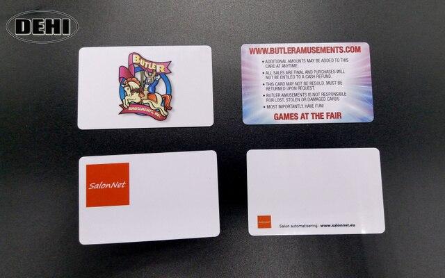 200pcs custom printing card 13 56mhz 125khz rfid card nfc card print