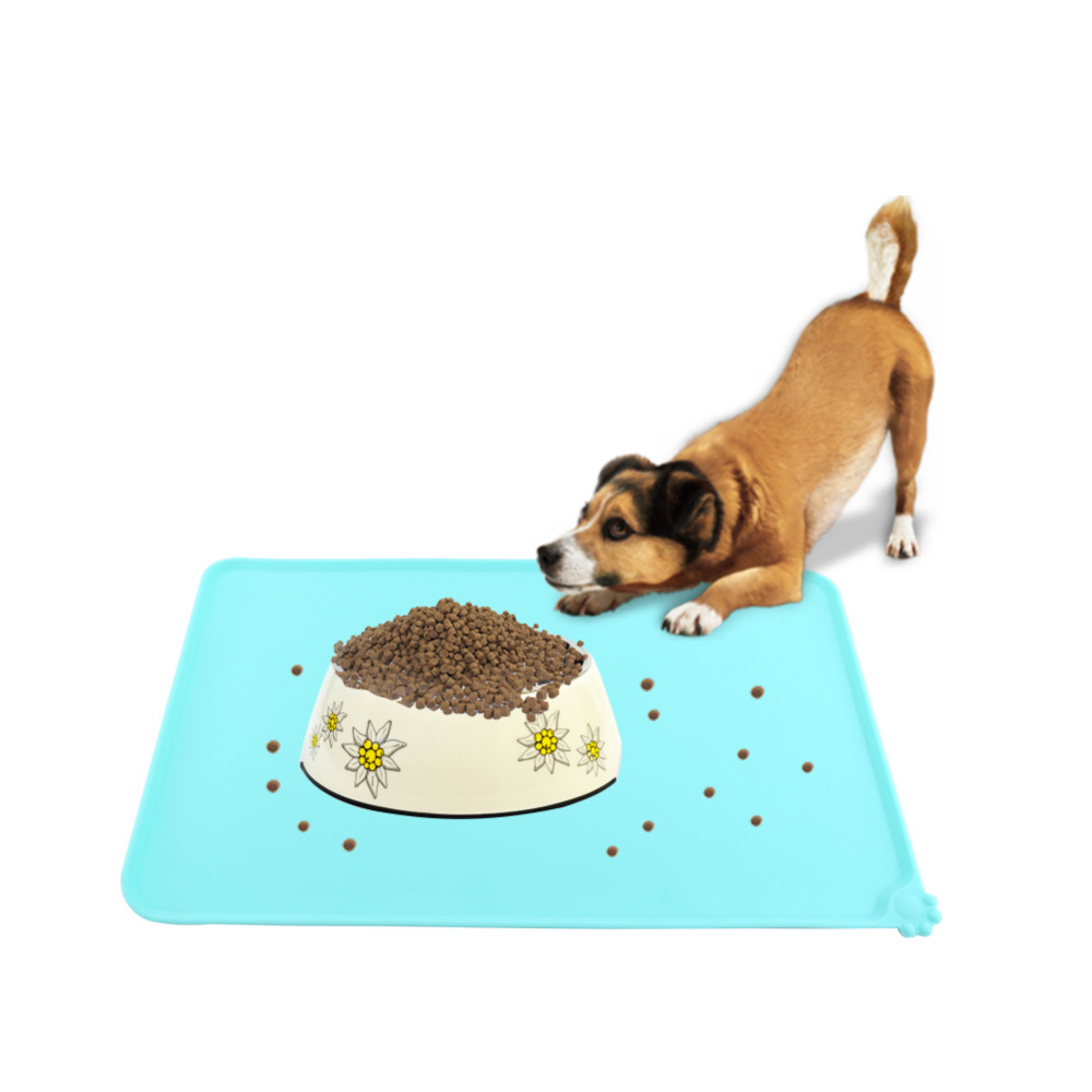 mat dogs or for raised cats food pin single silicone and pet premium mats bowl feeding