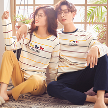 Couple Loungewear Pijama Autumn Winter New Fashion Couples Pajamas Men