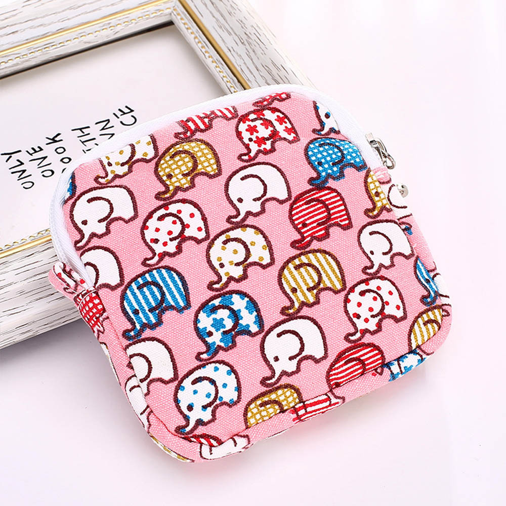 Women Girl Cute Sanitary Pad Organizer Holder Napkin Towel Convenience Bags k000078990 motherboard for toshiba satellite l550 l555 la 4981p kswaa use ddr2 ram tested good