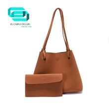 TULADUO Fashion Female Shoulder Bag New Women Messenger Handbags Ladies PU Leather Composite Bag Tote+Small solid Color Clutch