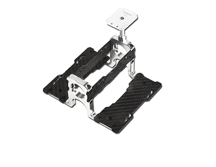 Tarot 24MM Carbon Fiber GPS Fasten Holder Battery Mounting TL2867 for FPV RC Helicopter Multicopter F06634 fpv display mounting bracket metal holder shortcut for dji rc transmitter