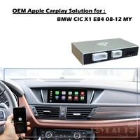 Aftermarket X1 E84 CIC 2008 2012 OEM Apple Carplay Android Auto Upgrade Smart Auto Box Retrofit for BMW with Waze Spotify