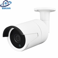 SSICON OV4689 CMOS Sensor 3Pcs Array Leds Outdoor Security Analog Camera AHD 4MP Bullet Waterproof Mini