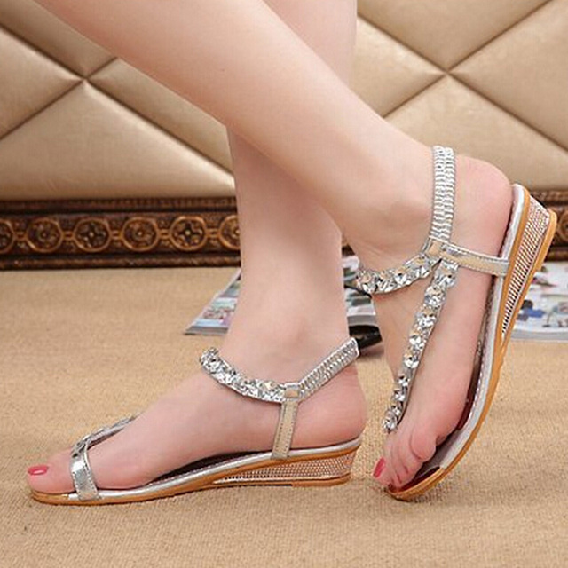 Women's Jewel Wrap Sandals