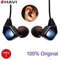 Venta caliente Nuevo Profesional de calidad Superior HAVI B3 PRO1 para MP3 reproductor de música hifi auricular en la oreja los Auriculares de Cancelación de Ruido